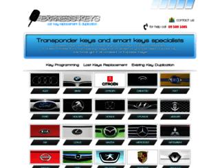 expresskeys.co.nz screenshot