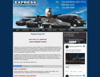 expresslimonj.com screenshot