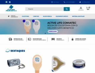 expressmedicalstore.com.br screenshot