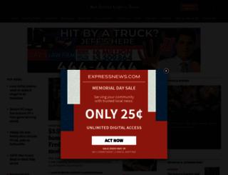 expressnews.com screenshot