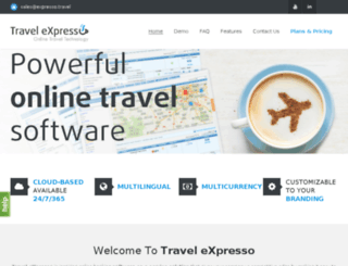 expresso.travel screenshot