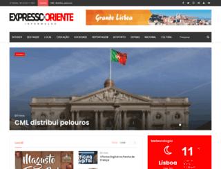 expressodooriente.com screenshot
