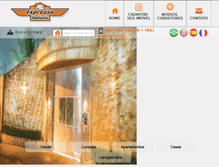 expressoimoveis.com screenshot