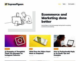 expresspigeon.com screenshot