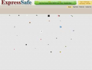 expresssafe.com screenshot