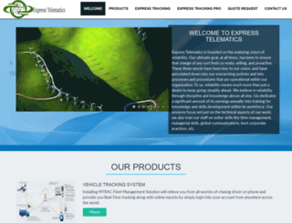 expresstelematics.com screenshot