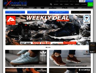 expresstrainers.com screenshot