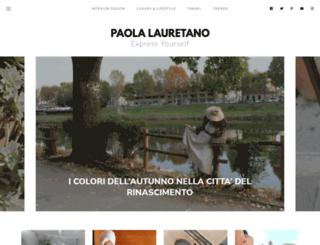 expressyourselfbypaolalauretano.blogspot.com.es screenshot