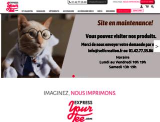 expressyourtee.com screenshot