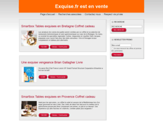 exquise.fr screenshot