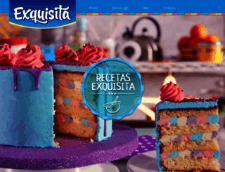 exquisita.com.ar screenshot