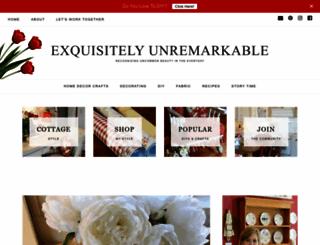 exquisitelyunremarkable.com screenshot