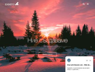 exsisto.com screenshot