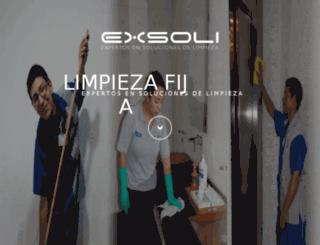 exsoli.mx screenshot
