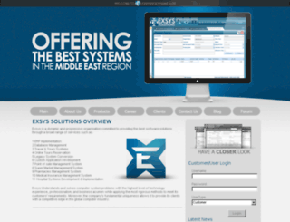 exsysvision.com screenshot