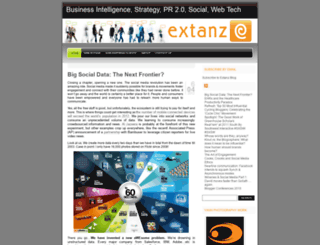 extanz.wordpress.com screenshot