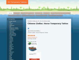 extattoo.com screenshot