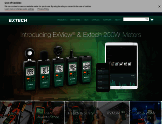 extech.com screenshot
