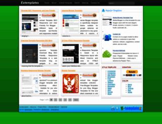 extemplates.blogspot.com screenshot