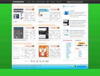 extemplates.blogspot.in screenshot