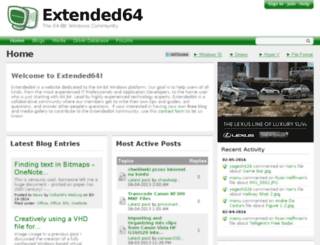 extended64.com screenshot