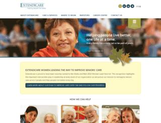 extendicareus.com screenshot