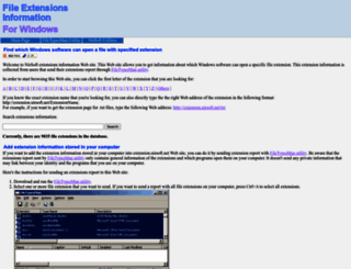 extension.nirsoft.net screenshot