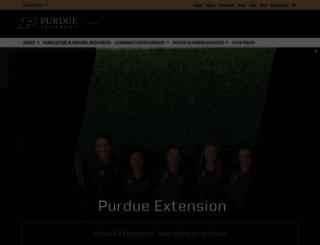 extension.purdue.edu screenshot