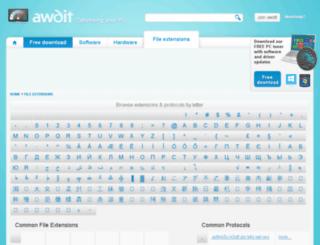 extensions.awdit.jp screenshot