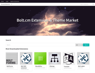 extensions.bolt.cm screenshot