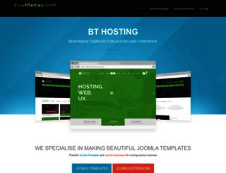 extensions.bowthemes.com screenshot