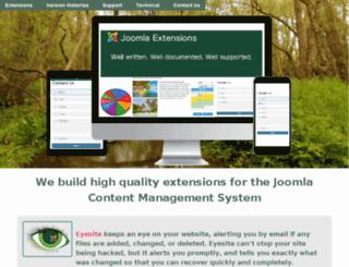 extensions.lesarbresdesign.info screenshot