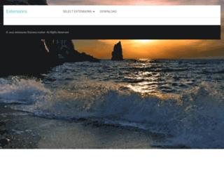 extensions.themescreative.com screenshot