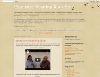 extensivereadingrockstar.blogspot.com screenshot