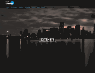 extensysinc.com screenshot