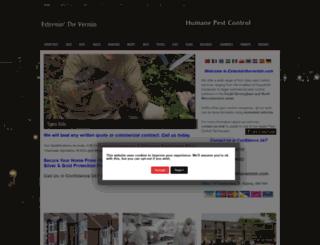 exterminthevermin.com screenshot