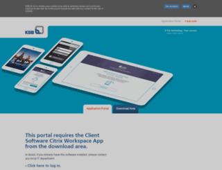 external.ksb.com screenshot