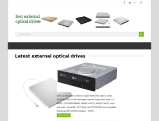 externalopticaldrives.com screenshot