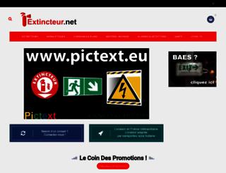 extincteur.net screenshot