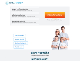 extra-hypoteka.cz screenshot