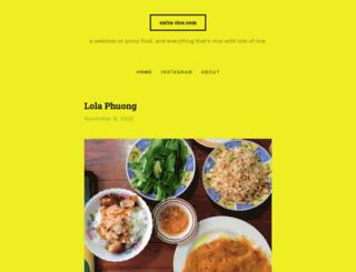 extra-rice.com screenshot