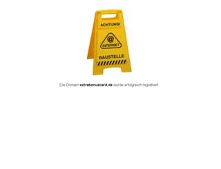 extrabonuscard.de screenshot