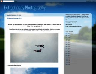 extrachrispyphotography.blogspot.com screenshot