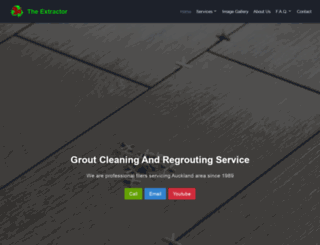 extractor.co.nz screenshot