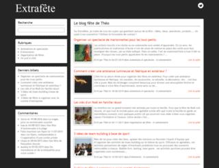 extrafete.com screenshot