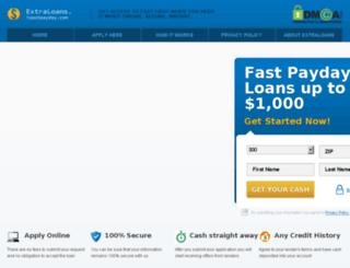 extraloans.ispotpayday.com screenshot