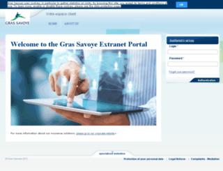 extranet-lisa.grassavoye.com screenshot