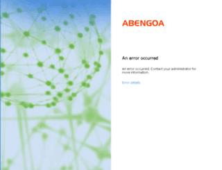extranet.abengoa.com screenshot