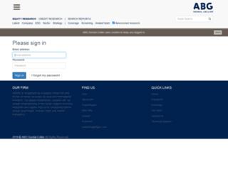 extranet.abgsc.se screenshot