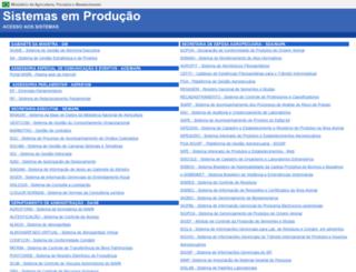 extranet.agricultura.gov.br screenshot